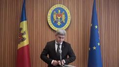 Declarațiile lui Alexandru Jizdan după ședința Guvernului Republicii Moldova din 23 mai 2018