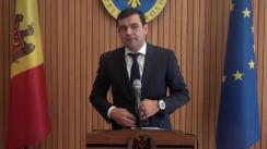 Declarațiile lui Chiril Gaburici după ședința Guvernului Republicii Moldova din 23 mai 2018