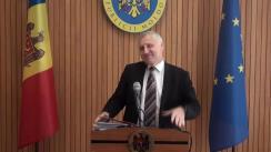 Declarațiile lui Nicolae Eșanu după ședința Guvernului Republicii Moldova din 23 mai 2018