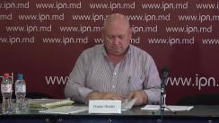 """Conferința de presă susținută de Fiodor Ghelici cu tema """"Împotriva lui Fiodor Ghelici se pregătește o provocație și atentat cu scopul lichidării fizice. Persoanele suspectate de aceasta"""""""