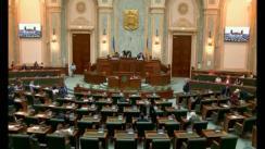 Ședința în plen a Senatului României din 29 mai 2018