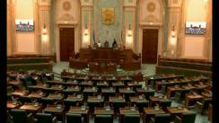 Ședința în plen a Senatului României din 30 mai 2018