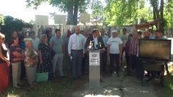 Conferință de presă susținută de candidatul la funcția de primar general al municipiului Chișinău din partea Partidului Platforma Demnitate și Adevăr, Andrei Năstase, și Președintele Partidului Acțiune și Solidaritate, Maia Sandu