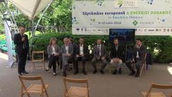 """Dezbaterea """"Eficiență Energetică și surse de energie regenerabilă"""""""