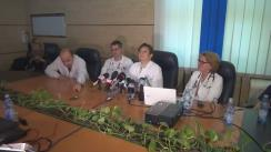 Conferință de presă organizată de Spitalul Universitar de Urgență Elias despre inimi și vieți care pot fi salvate