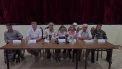 Conferință de presă susținută de către reprezentanții organizațiilor neguvernamentale a persoanelor cu dizabilități