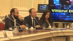 """Masa rotundă organizată de Think-Tank-ul Digital Citizens Romania, Ministerul Comunicațiilor și Societății Informaționale și Comisia pentru Afaceri Europene a Senatului României cu tema """"Viitorul Digital al Europei"""""""