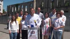 Conferință de presă susținută de candidatul la funcția de primar general al municipiului Chișinău din partea Partidului Platforma Demnitate și Adevăr, Andrei Năstase, și echipa sa