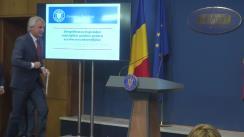 Declarații de presă susținute de Ministrul Finanțelor Publice al României, Eugen Teodorovici, pe tema normelor de aplicare a Legii achizițiilor publice