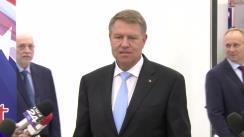 Declarație de presă susținută de Președintele României, Klaus Iohannis, după deschiderea Salonului Internațional de Carte Bookfest, ediția a XIII-a