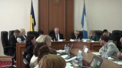 Ședința Curții de Conturi de examinare a Raportului auditului situațiilor financiare ale Consiliului pentru prevenirea și eliminarea discriminării și asigurarea egalității pe anul 2017