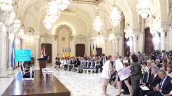 """Seminarul """"Abordarea celui de-al treilea obiectiv de dezvoltare durabilă: asigurarea unei vieți sănătoase și promovarea bunăstării pentru toți la toate vârstele - dialog asupra politicilor"""""""