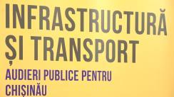 """Audieri publice pentru Chișinău cu tema """"Introducerea benzilor dedicate transportului public"""""""