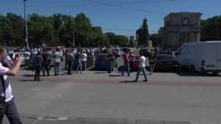 Marș împotriva scumpirii carburanților