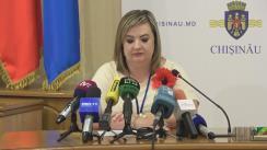 Alegeri Chișinău 2018: Briefingul Consiliului electoral de circumscripție electorală municipală Chișinău nr.1 - situația la secțiile de votare până la ora 12.45