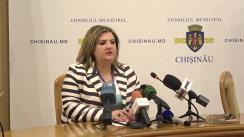 Alegeri Chișinău 2018: Briefingul Consiliului electoral de circumscripție electorală municipală Chișinău nr.1 - situația la închiderea secțiilor de votare