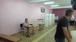 Alegeri Chișinău 2018: Exprimarea votului de către fostul primar general al mun. Chișinău, Dorin Chirtoacă