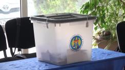 Alegeri Chișinău 2018: Exprimarea votului de către fostul candidat la funcția de primar general al mun. Chișinău din partea Partidului Liberal, Valeriu Munteanu