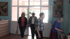 Alegeri Chișinău 2018: Exprimarea votului de către președintele Partidului Liberal, Mihai Ghimpu