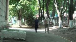 Alegeri Chișinău 2018: Exprimarea votului de către Președintele Parlamentului Republicii Moldova, Andrian Candu
