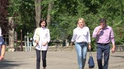Alegeri Chișinău 2018: Exprimarea votului de către președintele Partidului Acțiune și Solidaritate, Maia Sandu