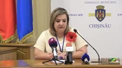 Alegeri Chișinău 2018: Briefingul Consiliului electoral de circumscripție electorală municipală Chișinău nr.1