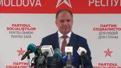 Alegeri Chișinău 2018: Briefing de presă susținut de candidatul PSRM la funcția de primar general al Chișinăului, Ion Ceban