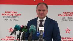 Alegeri Chișinău 2018: Conferință de presă susținută de candidatul PSRM la funcția de primar general al Chișinăului, Ion Ceban, după anunțarea parțială a rezultatelor alegerilor