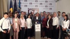 Alegeri Chișinău 2018: Briefing de presă susținut de primarul general ales al municipiului Chișinău, Andrei Năstase, după anunțarea rezultatelor alegerilor