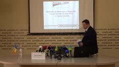 Conferință de presă organizată de Asociația Promo-LEX cu ocazia prezentării rezultatelor preliminare ale numărării paralele a voturilor pentru alegerile locale noi din 3 iunie 2018