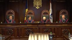 Curtea Constituțională examinează sesizarea a șapte deputați PL, care pretind că obligativitatea utilizării limbii ruse