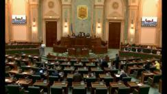 Ședința în plen a Senatului României din 4 iunie 2018