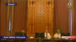 Ședința comisiei speciale comună a Camerei Deputaților și Senatului pentru sistematizarea, unificarea și asigurarea stabilității legislative în domeniul justiției din 4 iunie 2018
