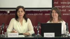 """Conferința de presă cu tema """"Lansarea raportului final de monitorizare a mass-mediei în campania electorală pentru turul II al alegerilor locale noi din 3 iunie 2018"""""""