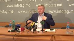 """Conferință de presă organizată de deputatul Sovietului Suprem al Transnistriei, Oleg Horjan, cu tema """"Încălcările masive ale drepturilor omului în Transnistria"""""""