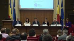 """Conferința cursdeguvernare.ro cu tema """"România la Președinția Consiliului UE: valorificarea oportunităților economice, pe granița dintre interesele naționale și strategiile Uniunii"""""""
