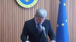Declarațiile lui Alexandru Jizdan după ședința Guvernului Republicii Moldova din 5 iunie 2018