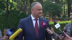 Declarațiile Președintelui Republicii Moldova, Igor Dodon
