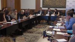 """Dezbaterea """"#RECONNECTMOLDOVA - Cum poate ajuta România Republica Moldova în perioada președinției UE?"""""""