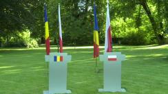 Declarații susținute de Președintele României, Klaus Iohannis, și Președintele Republicii Polone, Andrzej Duda