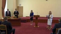 Semnarea Protocolului Comisiei a XIX-a interguvernamentală moldo-belarusă pentru cooperare comercial-economică și declarații susținute de Ministrul Economiei și Infrastructurii, Chiril Gaburici, și viceprim-ministrul Republicii Belarus, Mihail Rusîi