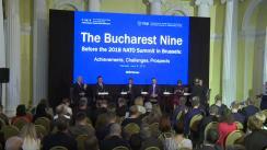 """Sesiunea prezidențială din cadrul conferinței """"B9 înainte de Summitul NATO de la Bruxelles din 2018"""""""