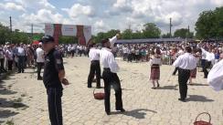 Inaugurarea Festivalului Căpșunelor și Mierii în satul Sadova, raionul Călărași, ediția a V-a