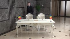 Semnarea Declarației Comisiei Comune pentru Integrare Europeană dintre Parlamentul Republicii Moldova și Parlamentul României