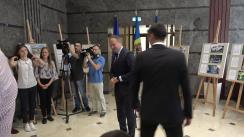 """Ceremonia de premiere a învingătorilor concursului de fotografie """"EU sunt EUropa"""", care vor beneficia de o călătorie în România, în cadrul Programului de tabere """"ARC"""""""