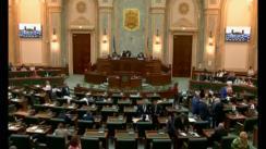 Ședința în plen a Senatului României din 11 iunie 2018