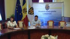 Declarații după ședința săptămânală a serviciilor primăriei Chișinău din 11 iunie 2018