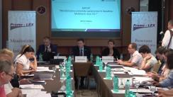"""Prezentarea de către Asociația Promo-LEX a rapoartelor privind """"Monitorizarea controlului parlamentar Republica Moldova în anul 2017"""" și """"Monitorizarea modului de ocupare/încetare a funcțiilor publice în anul 2017"""""""