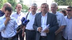 Conferință de presă susținută de Primarul General ales al Municipiului Chișinău, Andrei Năstase