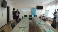 Deschiderea oficială a Centrului de Instruire Continuă al IPNA Compania Teleradio-Moldova